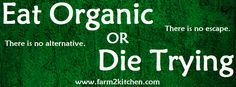 Here are 7 reasons why you should make this choice and buy organic as often as possible.