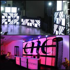 Custom Lightbox Stage Design @MichaelAngelos