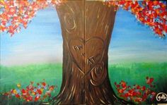 DATE NIGHT! Tree Love Set - Fairport, NY Painting Class - Painting with a Twist