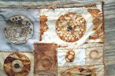 Natalie Magnin - Zamirte Textiles - Textile and Fiber Art: Cosmic Prints