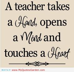 education quotes inspirational for teachers | Quotes About Teacher | My Quotes Garden - Quotes About Life - Part 3