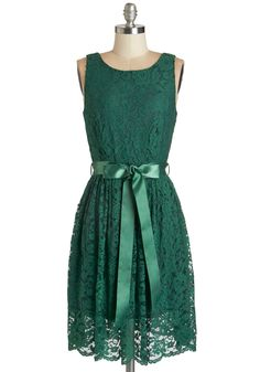 Lovely as Lychee Dress in Emerald | Mod Retro Vintage Dresses | ModCloth.com