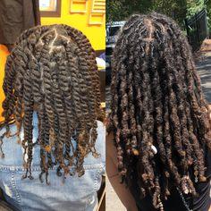 Short Dreadlocks Styles, Short Locs Hairstyles, Dreadlock Styles, Curly Hair Styles, Cool Hairstyles, Locs Styles, Black Hairstyles, Natural Hair Tips, Natural Hair Styles