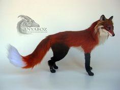 Lee the Fox Room Guardian by AnyaBoz on DeviantArt