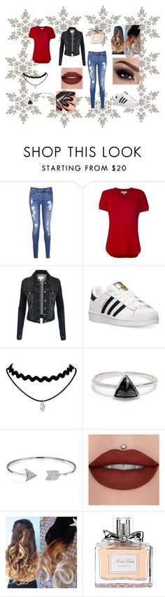 """""""DATE NIGHT"""" by diamond-angle ❤ liked on Polyvore featuring Tommy Hilfiger, MICHAEL Michael Kors, LE3NO, adidas, Bing Bang, Bling Jewelry, Christian Dior, DateNight, date and casualoutfit"""