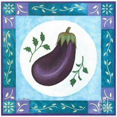 Eggplant Art Print by Urpina at Art.com