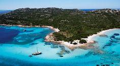 Sailing #Sardinia, one of our favourite places ! #YachtcharterItalien #YachtcharterLaMadalena
