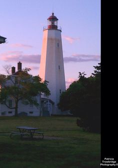 Lighthouse in Sandy Hook, NJ