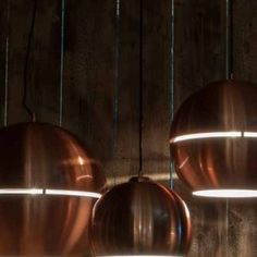 With a retro touch and a handsome look, the Big Glow pendant lamp boasts a chromed or copper metal shade with metal canopy. The glossy finish of the pendant lamp looks ever so rich and charming, it lights up the area even before the light's turned on! The sparkling light source is a perfect alternative to a simple light so make the addition with one of a few! Pick the version you want and welcome the touch from the seventies into your happy and contemporary home. Sparkling Lights, Metal Canopy, Copper Metal, Recycling Bins, Pendant Lamp, Outdoor Lighting, Light Up, Indoor Outdoor, Glow