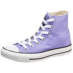 b471a22cb6f4 Converse CHUCK TAYLOR ALL STAR HIGH Hightop trainers lavender glow ( 65) ❤  liked on Polyvore featuring shoes