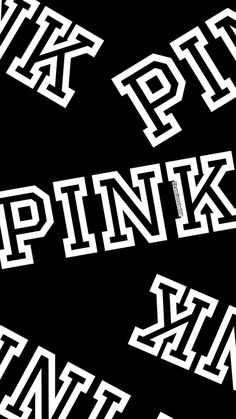 pink blak and wite Love Pink Wallpaper, Pink Nation Wallpaper, Apple Wallpaper, Trendy Wallpaper, Cute Wallpapers, Aztec Wallpaper, Iphone Wallpaper Vsco, Iphone Background Wallpaper, Cellphone Wallpaper