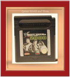 Gameboy Spiel Wrestlemania 2000 Ansehen!