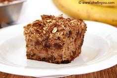 Wholegrain Banana Cake Recipe- A healthy dessert to satisfy sweet tooth!