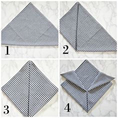 Easy napkin folds for cloth and paper napkin for summer entertaining! You can do every single napkin fold! Cloth Napkins, Paper Napkins, Napkin Ring Folding, Napkin Rings, Summer Table Decorations, Decoupage Tutorial, Wedding Napkins, Table Wedding, Pantry Labels