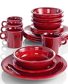 Fiesta Dinnerware - Fiesta - Dining & Entertaining - Scarlet