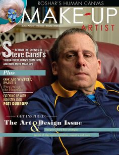 Get inspired! Issue 111 of Make-Up Artist magazine is the Art & Design Issue, featuring Steve Carell's Foxcatcher make-up  www.makeupmag.com