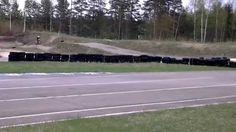 Harjoittelemassa Hyvinkäällä 10.5.2015 Supermotoseason2015
