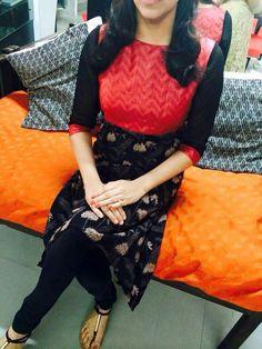 Different body- Yolk- sleeves Churidar Designs, Kurta Designs Women, Stylish Dress Designs, Stylish Dresses, Dress Indian Style, Indian Dresses, Kurti Patterns, Dress Patterns, Trendy Kurti
