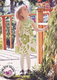 Lily Bird Studio PDF sewing pattern Angelique dress for girls from 1 to 10 years - high waist, wide gathered pockets Pdf Sewing Patterns, Clothing Patterns, Little Girl Dresses, Girls Dresses, Thing 1, Girls Boutique, Sweet Dress, Sewing For Kids, Dress Making