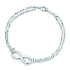 Tiffany & Co. Infinity Love Knot Bracelet ♡ Attention future boyfriend.. I want this! Lol