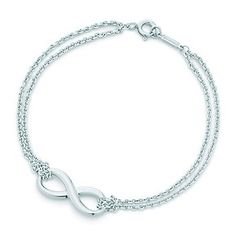 Tiffany & Co. Infinity Love Knot Bracelet ♡ Attention future boyfriend.. I want this! Lol