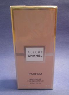 Chanel Allure Pure Perfume Refill Recharge Purse Spray 0.25 oz 7.5 ml Sealed New #Chanel...my 2nd signature fragrance