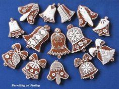 milované zvonečky, vianočné | Medovníky Artmama.sk