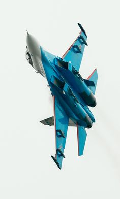 "eyestothe-skies: "" Sukhoi Su-27 Russian Knights """