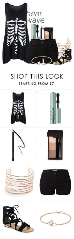 """""""it's always hot in texas"""" by nerdtastical ❤ liked on Polyvore featuring Too Faced Cosmetics, Alexis Bittar, LE3NO, Saks Fifth Avenue, David Yurman, contestentry and heatwave"""