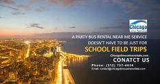 A Party Bus Rental Near Me Service Doesn't Have to Be Just for School Field Trips Party Bus Rental, Limo, School