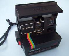 80s Polaroid Supercolor Camera. 600 Land Camera. by JirjiMirji, €100.30