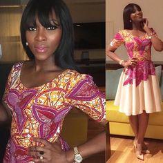 Lovely dress ~African fashion, Ankara, kitenge, African women dresses, African prints, African men's fashion, Nigerian style, Ghanaian fashion ~DKK