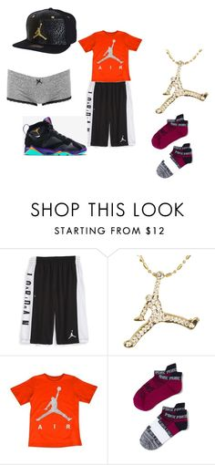 """""""Air Jordan"""" by daisy-owens on Polyvore featuring NIKE, Retrò and Charlotte Russe"""