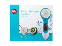 Life Brand Sonic Skincare Solution Facial Brush