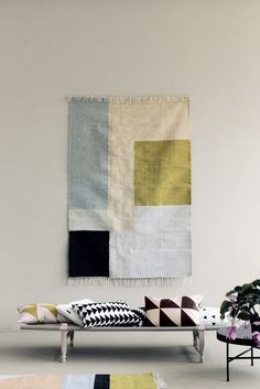 KELIM SQUARES マット by ferm LIVING
