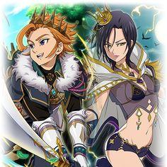 King Arthur x Lady Merlin - Nanatsu no Taizai ~ DarksideAnime