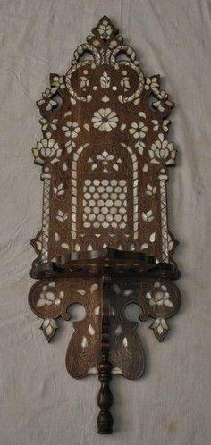 Syrian Pearl Shelf - Moroccan Home Decor