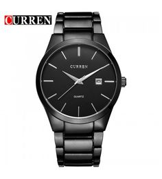 0cd067ad233 Relógio Masculino de Luxo Preto   Preto Men Watch
