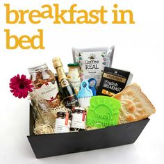 Breakfast in Bed - nice idea for pressie