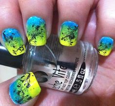 These nails are flipping awesome!!