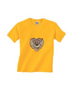 Kids will roar with delight when they see this colourful and cool lion kids' t-shirts
