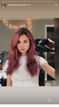 Most Beloved Hairstyles for Redheads Dark Skin Makeup Beloved hairsty hairstyleforwoman hairstyleideas Hairstyles redheads Hair Dye Colors, Cool Hair Color, Hair Inspo, Hair Inspiration, Cabelo Rose Gold, Dark Red Hair, Gray Hair, Brown Hair, White Hair