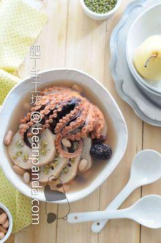 蓮藕綠豆章魚湯 Lotus Green Bean Soup