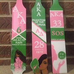 Aka Sorority, Sorority Paddles, Sorority And Fraternity, Sorority Life, Sorority Crafts, Alpha Kappa Alpha Sorority, Delta Sigma Theta, My Black Is Beautiful, Pretty In Pink