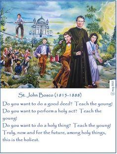 31 January - Feast Day - St John Bosco