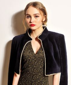 Lily Rose Depp and her mother are virtually twins.