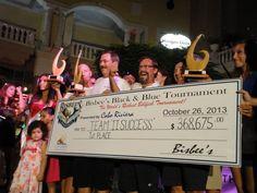 "2013 Bisbee's Black & Blue - 1st Place ""Team II Success"" 774 lb blue marlin $368,675.00 http://www.bisbees.com/"