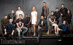Ryan Reynolds comenta que querría ver una película de X-Force e imagen con todos los actores de las películas Marvel actuales en Fox
