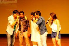 At Indira College, Pune