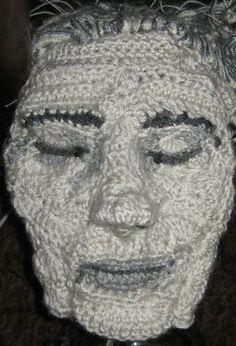 crochet portrait by Pat Ahern